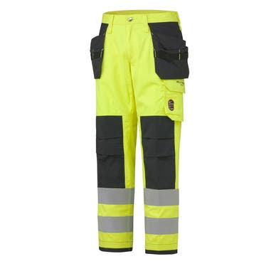 ABERDEEN FLAME RETARDANT HI VIS CLASS 2 CONSTRUCTION PANT