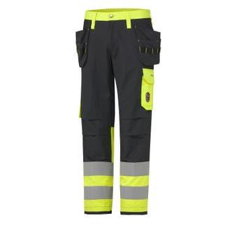 ABERDEEN FLAME RETARDANT HI VIS CLASS 1 CONSTRUCTION PANT