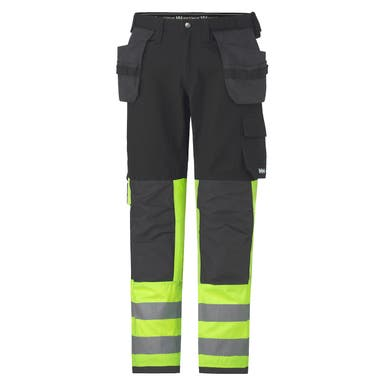 VISBY HIGH VIS CLASS 1 CONSTRUCTION PANTS