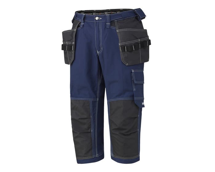 VISBY FLEXIBLE WAIST CONSTRUCTION PIRATE PANTS