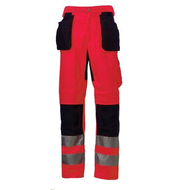 BRIDGEWATER HI VIS CLASS 2 CONSTRUCTION PANT