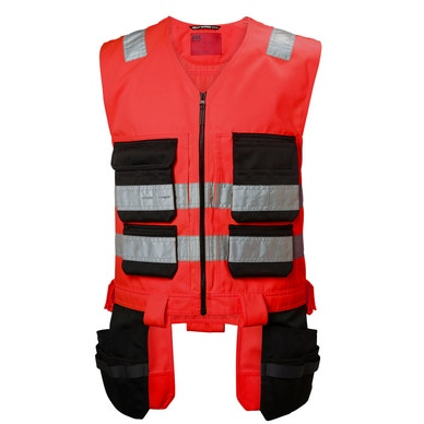 ALNA DURABLE HIGH VIS CLASS 1 CONSTRUCTION VEST