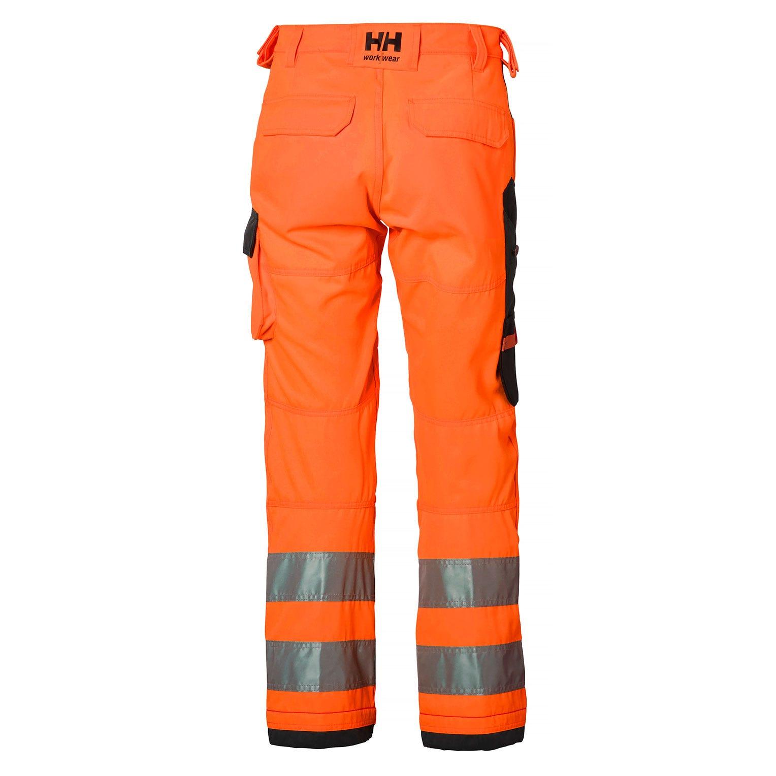 Helly Hansen Werkbroeken Alna 77411 High Vis fluo oranje-antracietgrijs(269)