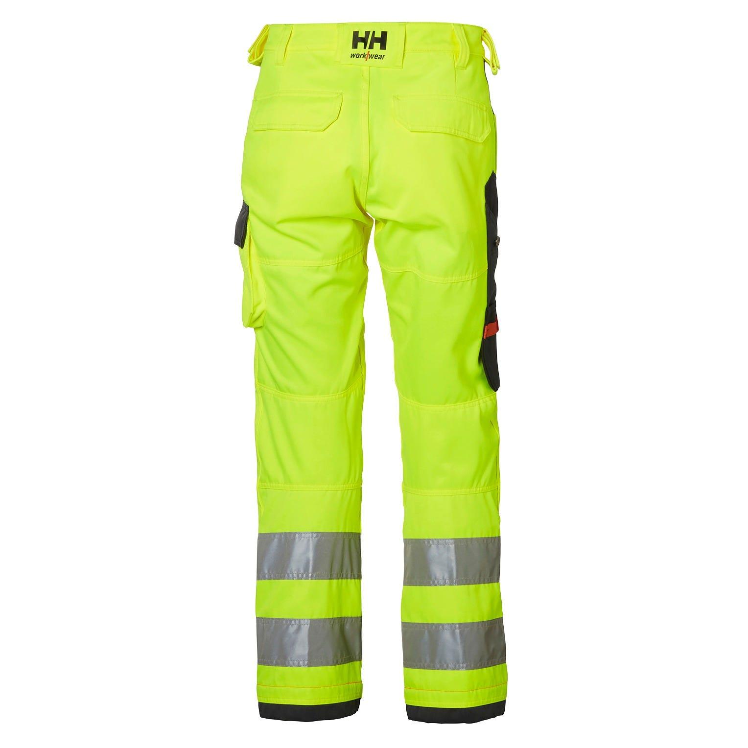 Helly Hansen Werkbroeken Alna 77411 High Vis fluo geel-antracietgrijs(369)