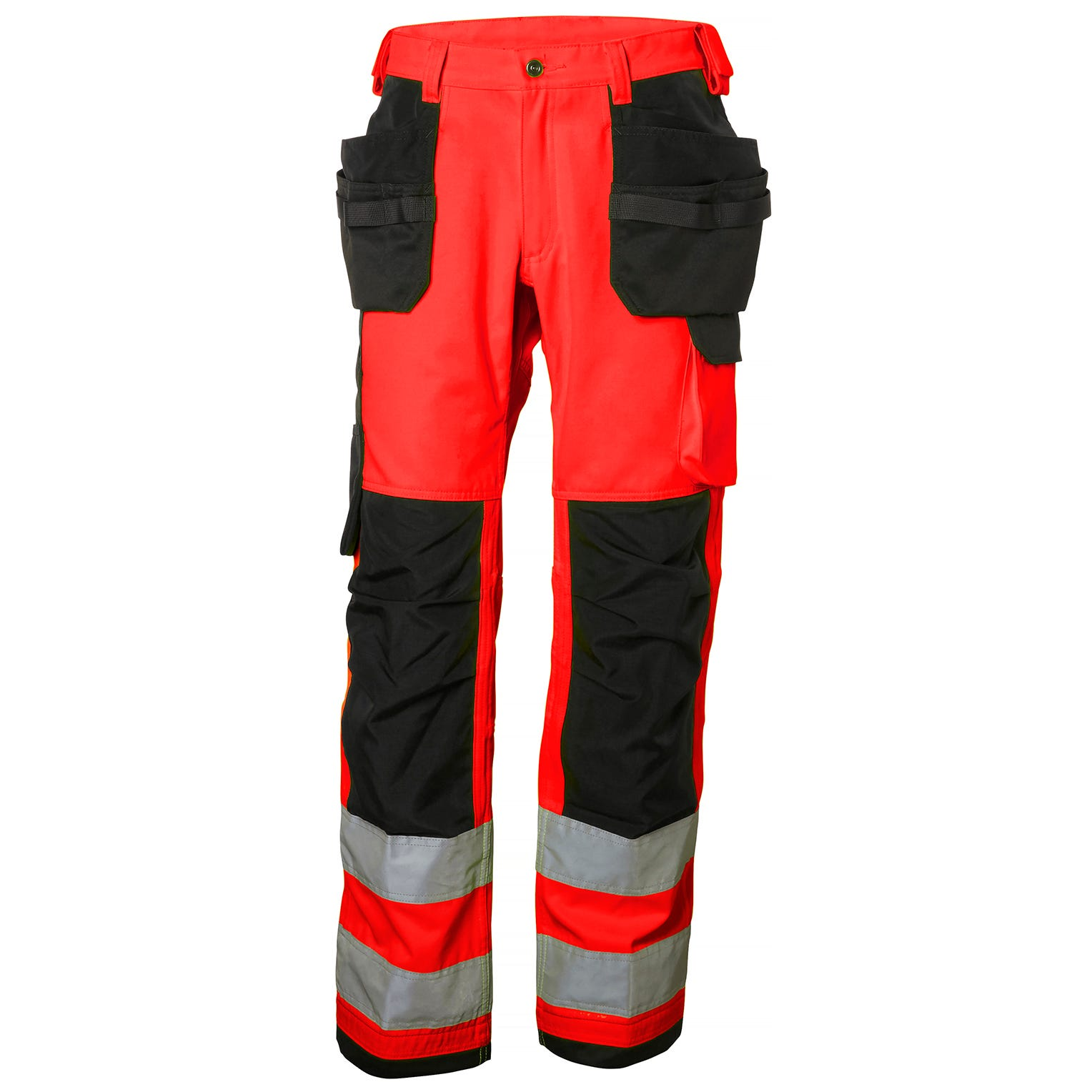 Helly Hansen Werkbroeken Alna 77413 High Vis fluo rood-antracietgrijs(169)