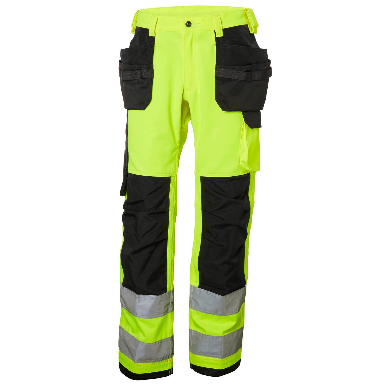 Helly Hansen Werkbroeken Alna 77413 High Vis fluo geel-antracietgrijs(369)