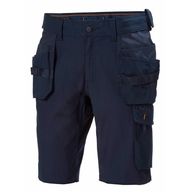 OXFORD REINFORCED 2-WAY STRETCH CONSTRUCTION WORK SHORTS