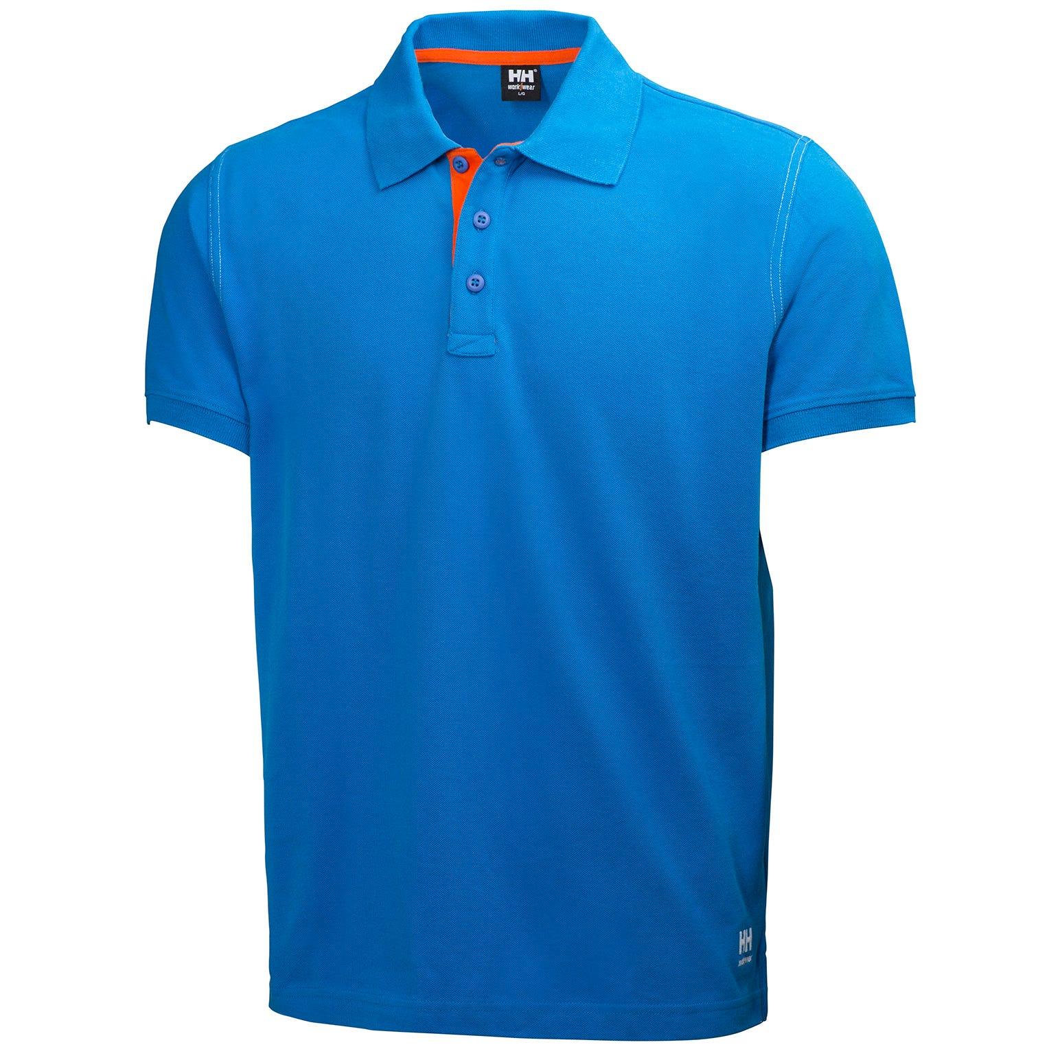 Helly Hansen T-shirt 79025 Oxford Polo 530 Racer Bleu