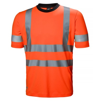 ADDVIS HIGH VIS 4-WAY STRETCH WORK SHIRT