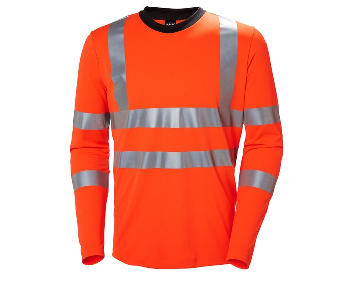ADDVIS HIGH VIS LONGSLEEVE WORK SHIRT