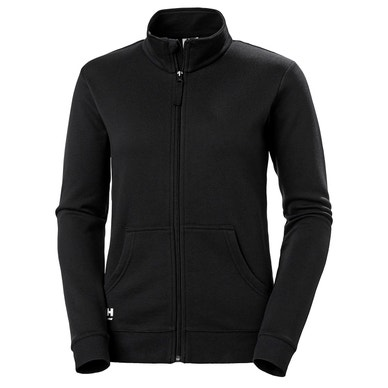 WOMEN'S MANCHESTER COTTON ZIP SWEATSHIRT