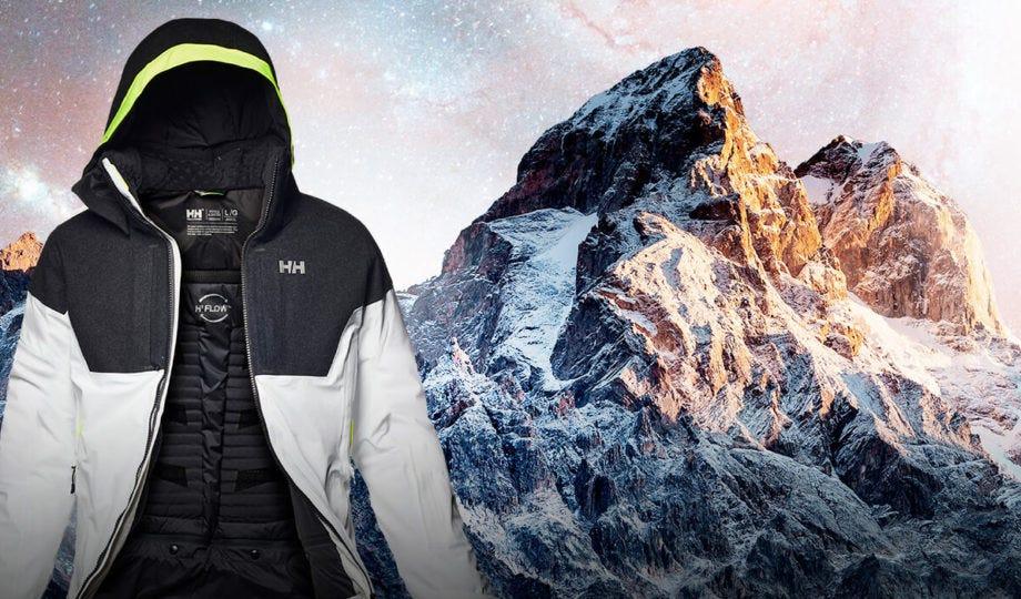 Helly Hansen Mens Victory Ski Winter Jacket