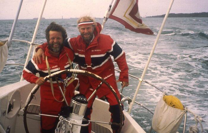 Berge Viking secured 8th place in their historic first as a Norwegian boat in the Whitbread Round the World Race