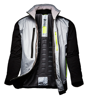 5efec0c8b9 Worn by Team MAPFRE is during the 2018 Volvo Ocean Race, enabling the crew  to efficiently regulate their temperature throughout the race - keeping  them warm ...