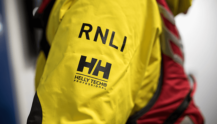 Waterproof, windproof, breathable, and lightweight Helly Tech® Professional RNLI Kit