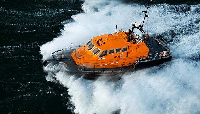 RNLI volunteers handling hard days at sea