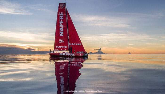 MAPFRE encounters every possible condition before the calm waters