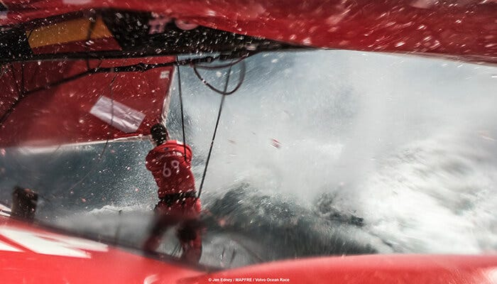 MAPFRE is facing unimaginable conditions in the Volvo Ocean Race