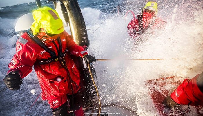 MAPFRE and Helly Hansen, testing the gears