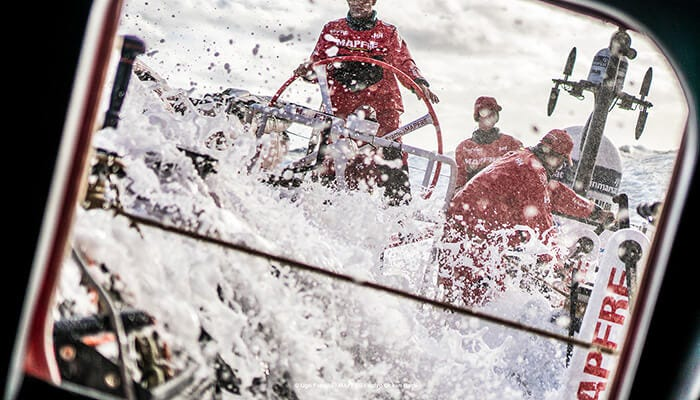 Xabi Fernandez, skipper for MAPFRE in the Volvo Ocean Race