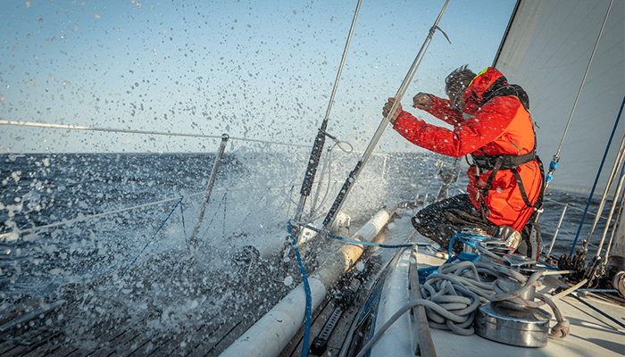 Arctic Cancer Challenge, the rebellious sailing