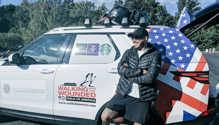 Walking With the Wounded Walk of America