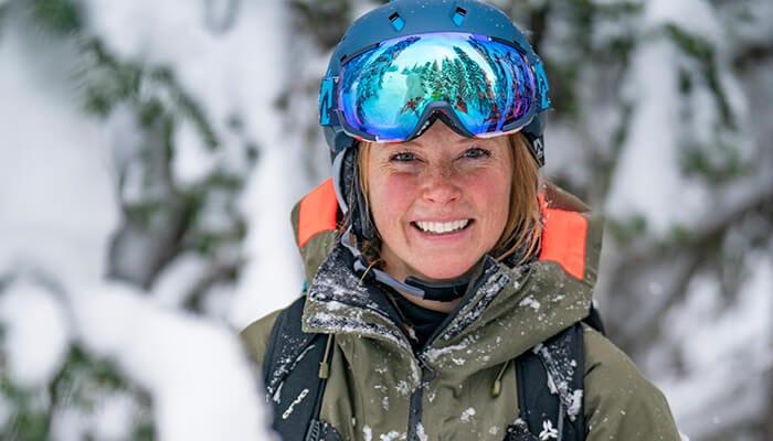 Kaylin Richardson,a professional skier