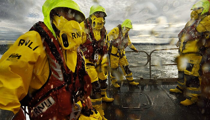 RNLI and Helly Hansen, a strategic partnership to help save lives at sea