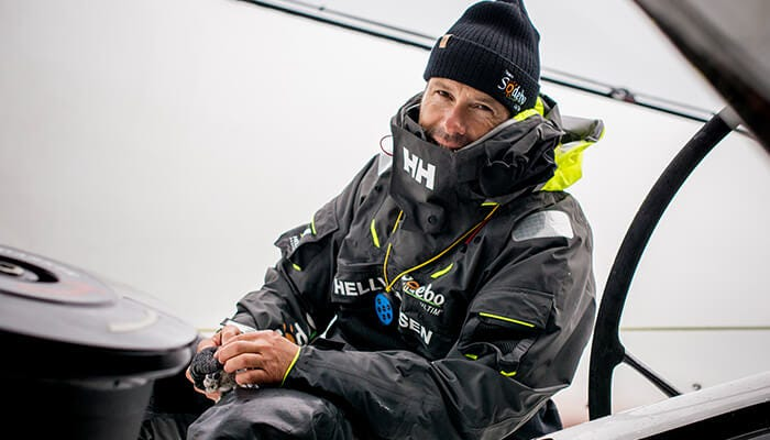 Sailor Thomas Coville, stories of adventure and persistence