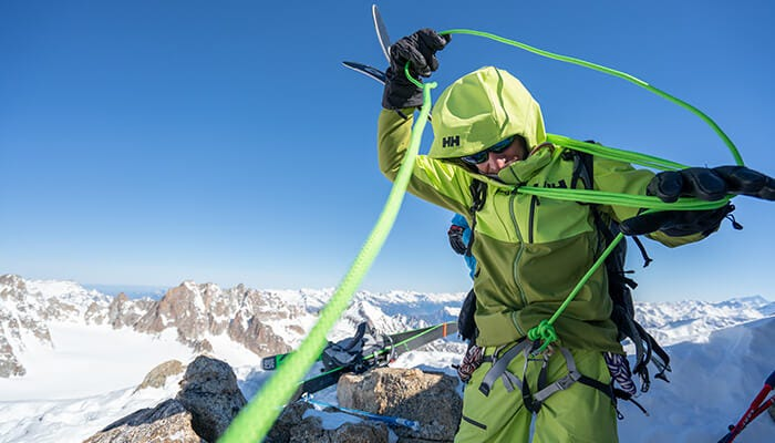 Helly Hansen Tested by Mountains