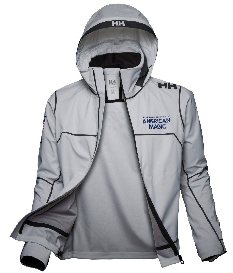 Image of the white HP Foil Pro Jacket