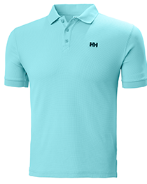 driftline polo in light blue