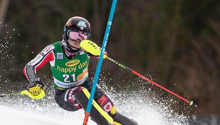 erin skiing slalom